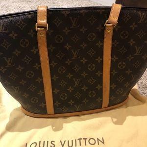 LV Babylone Monogram Canvas Shoulder Bag